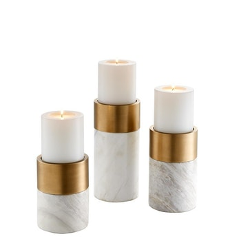 Candle Holder Sierra set of 3.