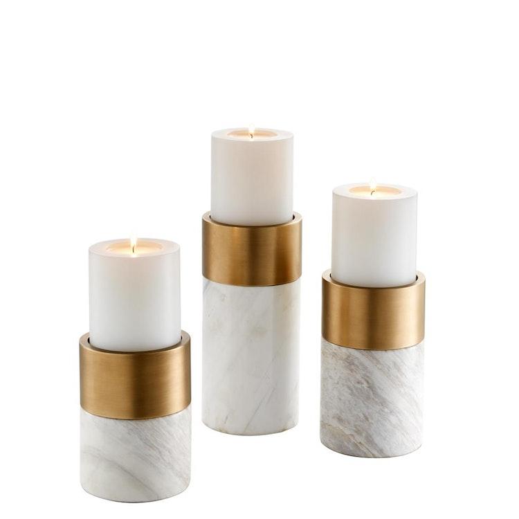 Candle Holder Sierra set of 3.