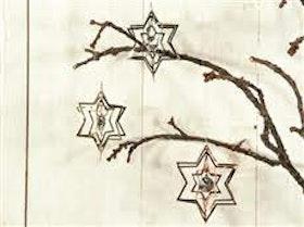 Stjärnor med diamant