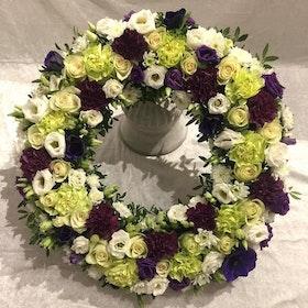 Krans i lila