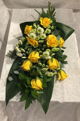 Lysande i gult & grönt
