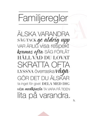 Familjeregler