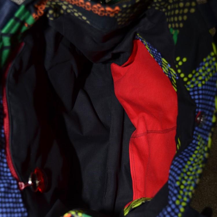 Axelremsväska Färgstark röd