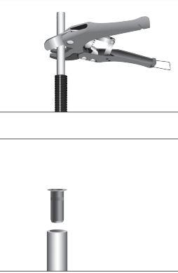 Klämingskoppling Rak G15 Gul
