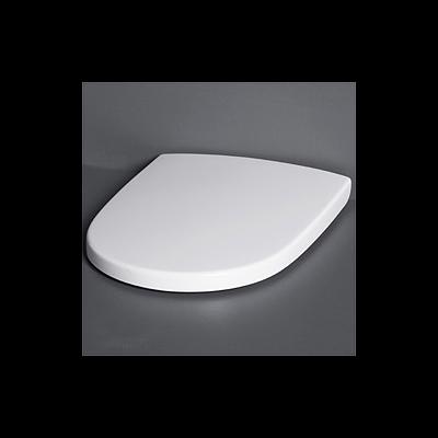 Toalettsits, Gustavsberg, Estetic hård sits 9M09 för vägghängd, soft close och quick release, matt vit