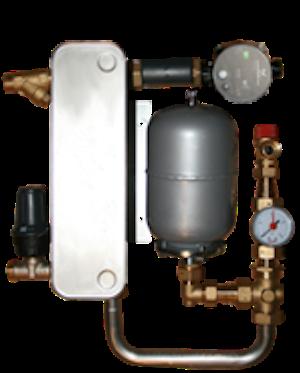 Värmeväxlare Wermgo 9-25kW, Elpannor 2-12kW
