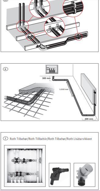 Pex-slang RöriRör 15x2,5, 15m Universal, varm/Kallvatten