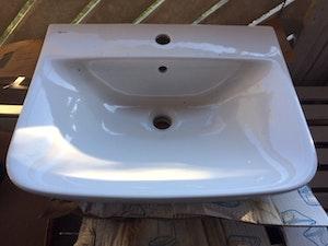 Rea. IDO tvättställ porslin, konsolhängt, ord. Pris 795kr, Begränsat antal