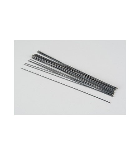 Skafttråd / Blomtråd  svart 0,8mm
