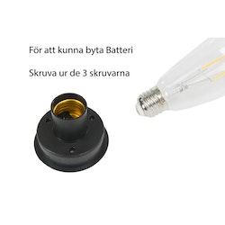 Lampa Solcell på pinne