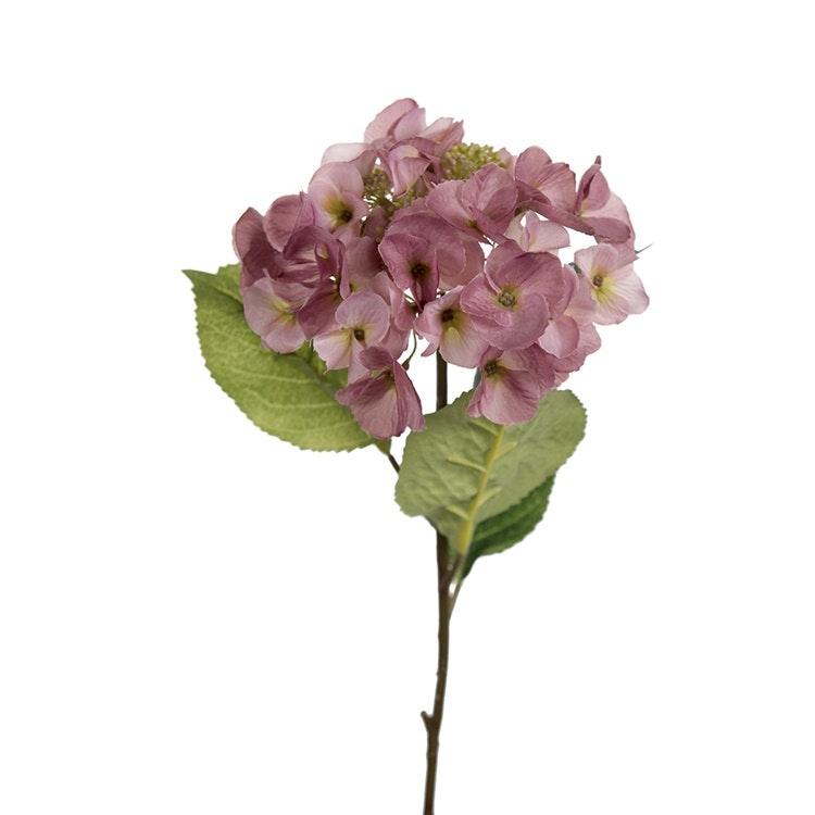 Konstgjord Hortensia Rosa 45cm