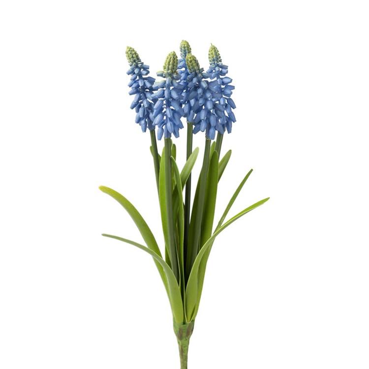 Konstgjord Pärlhyacint Blå 30cm
