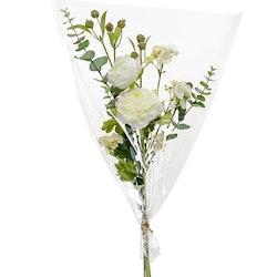 Bukett av konstgjorda blommor Vit