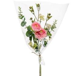 Bukett av konstgjorda blommor Rosa