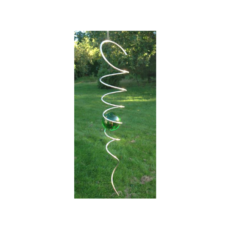 Spiral 40 mm  grön kula