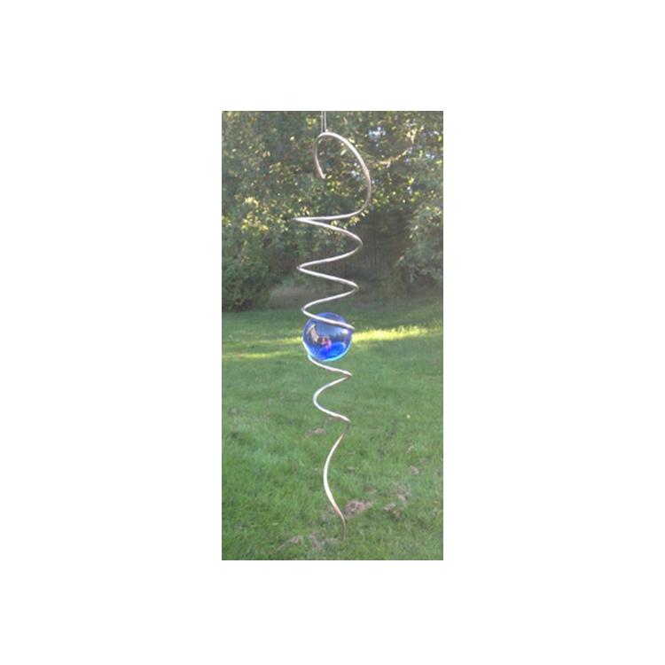 Spiral 40 mm  blå kula