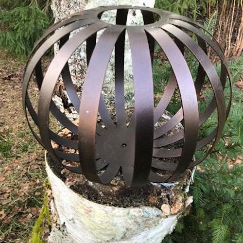 Bronsfärgat dekorationsklot 30 cm