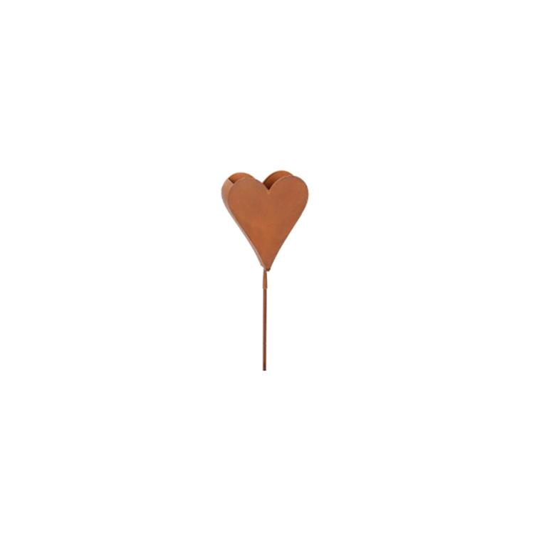 Hjärta på stav för plantering