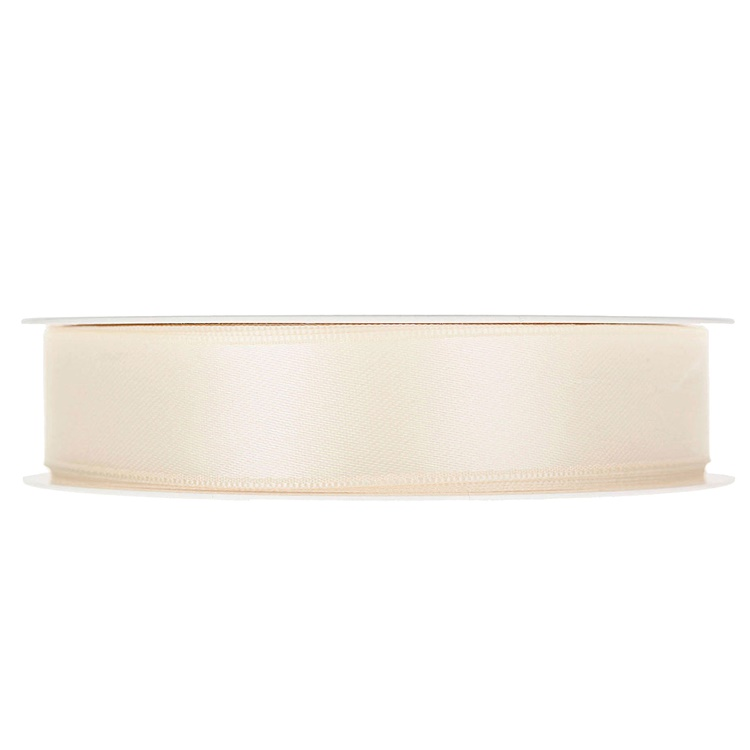 Band Satin Creme 25mm