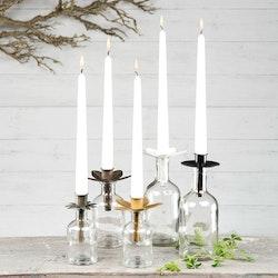 Ljushållare för kronljus 2-pack Antik mässing
