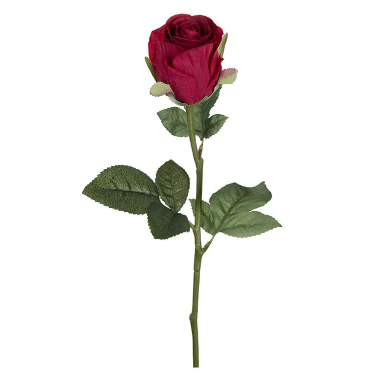 Konstgjord Ros 50 cm Röd