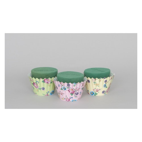 Oasis Cupcakes 9cm 3-pack