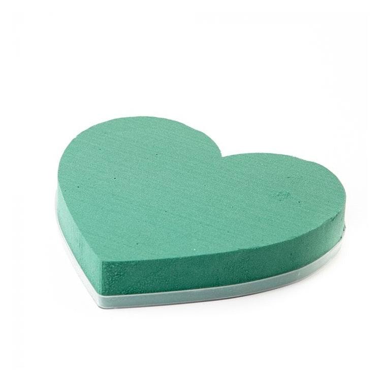 Oasishjärta på en plastbricka