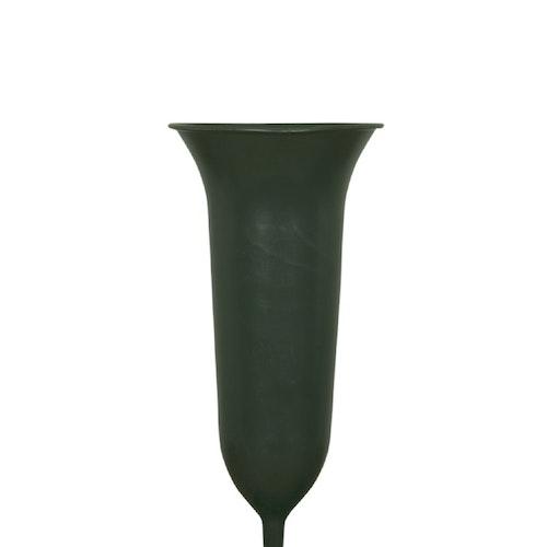 Gravvas mörkgrön stor