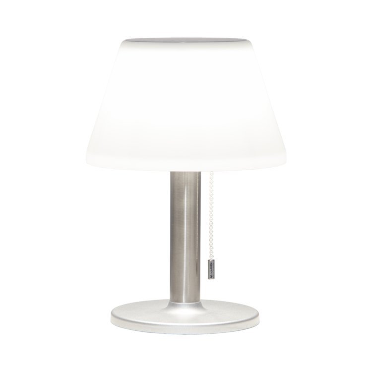 Bordslampa solcell med tre ljuslägen