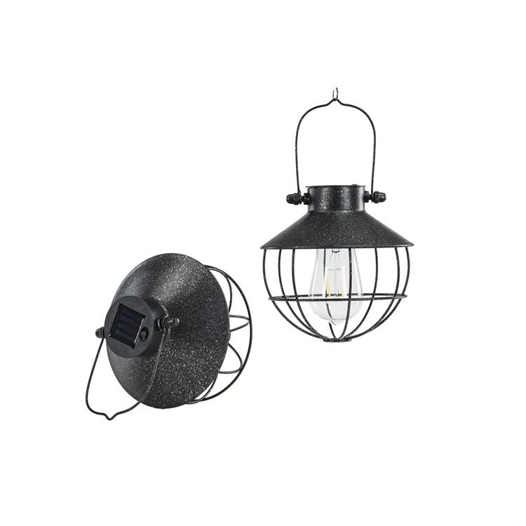 Lampa Solcell Hängande, rund