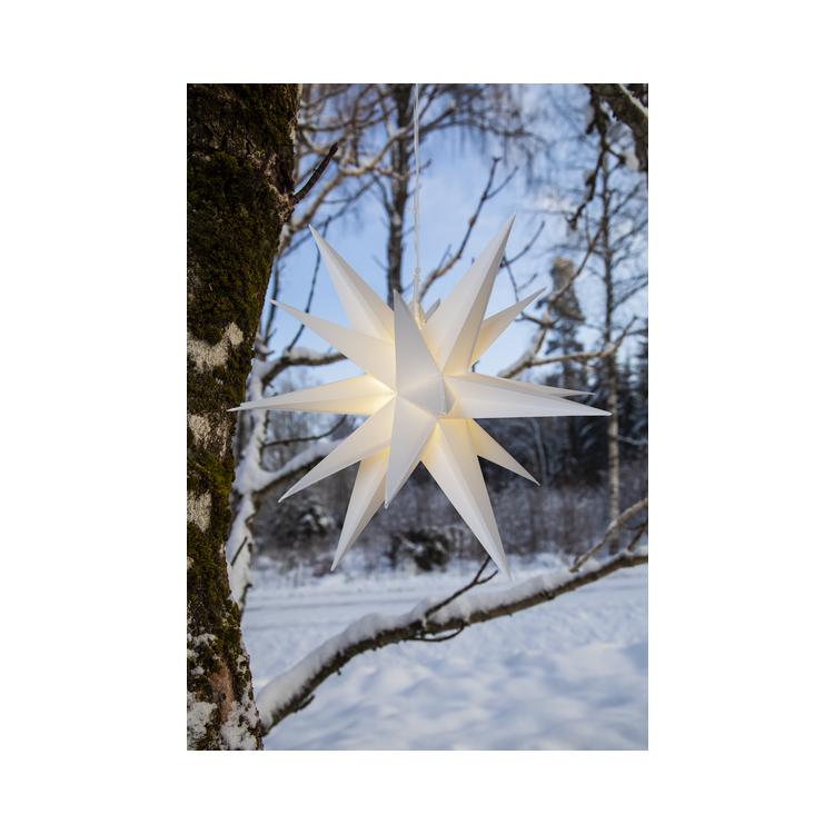 3D stjärna för utomhusbruk