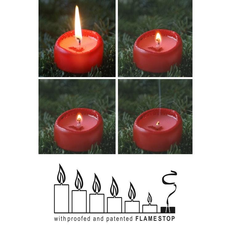 Höga värmeljus/säkerhetsljus 10cm