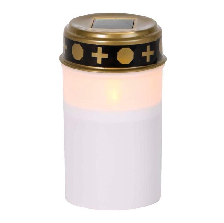 Solcell gravljus med lock