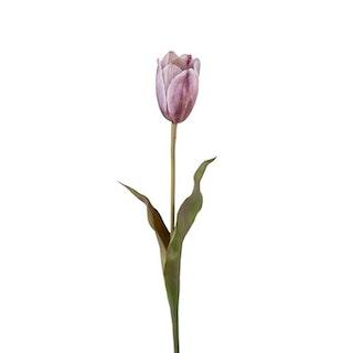 Konstgjord Tulpan, Lila 58 cm