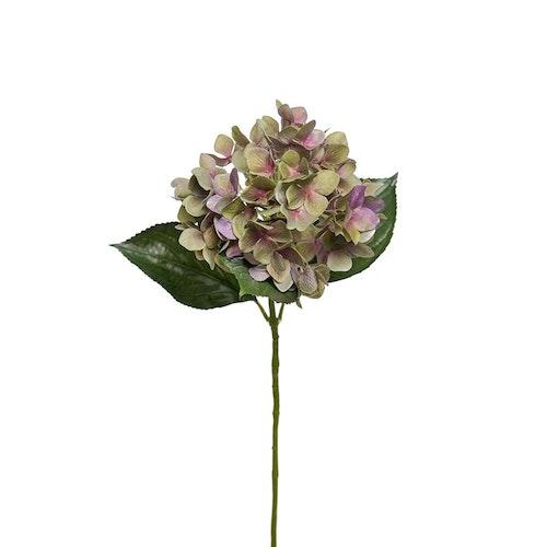 Konstgjord Hortensia Stor Lilagrön