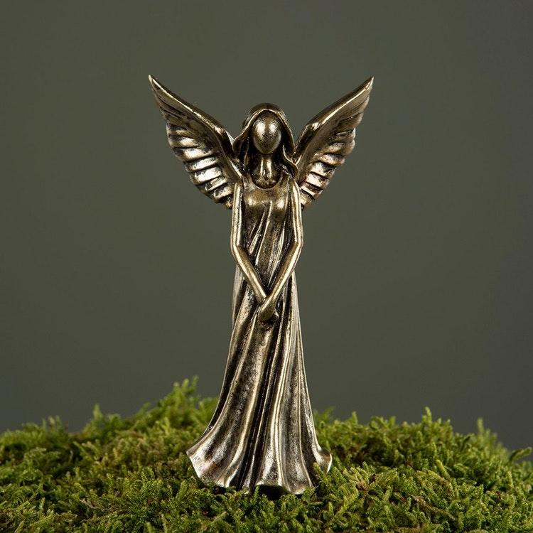 Ängel Sticks, brun/guld 10cm