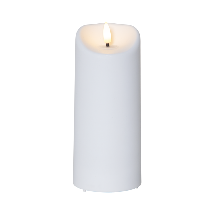 LED blockljus Flamme 18 cm