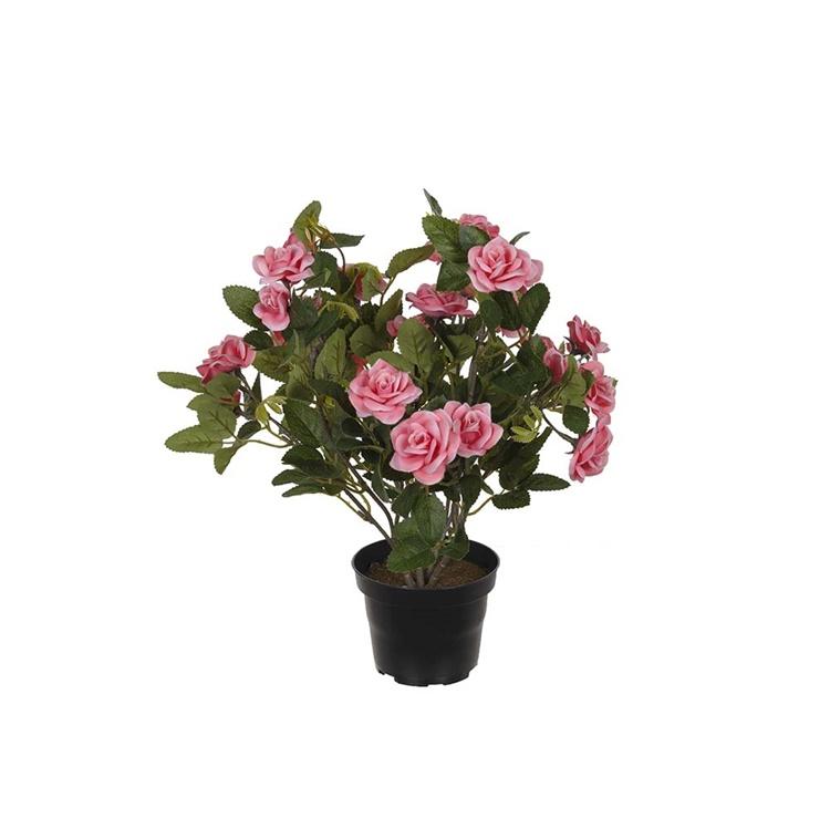 Konstgjord Ros i kruka, Rosa