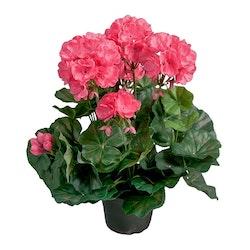 Konstgjord Pelargon Rosa