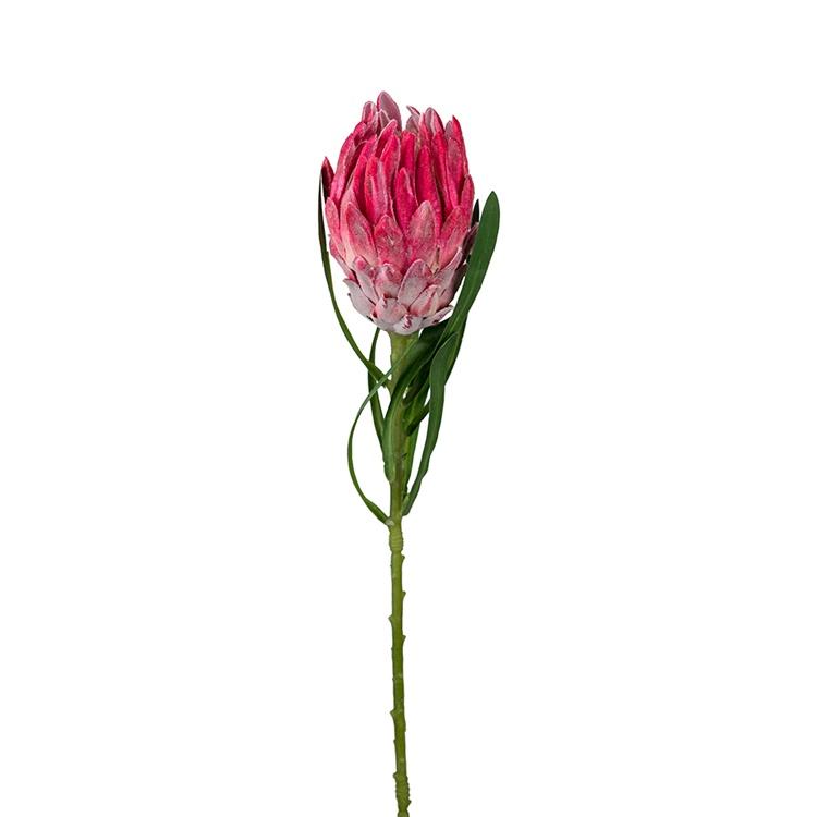 Konstgjord Protea Rosa