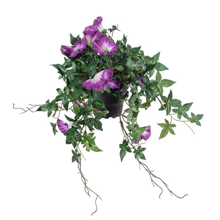 Kopia Konstgjord Blomman för dagen, Lila vit