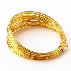 Aluminiumtråd guld