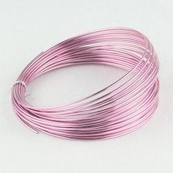 Aluminiumtråd rosa