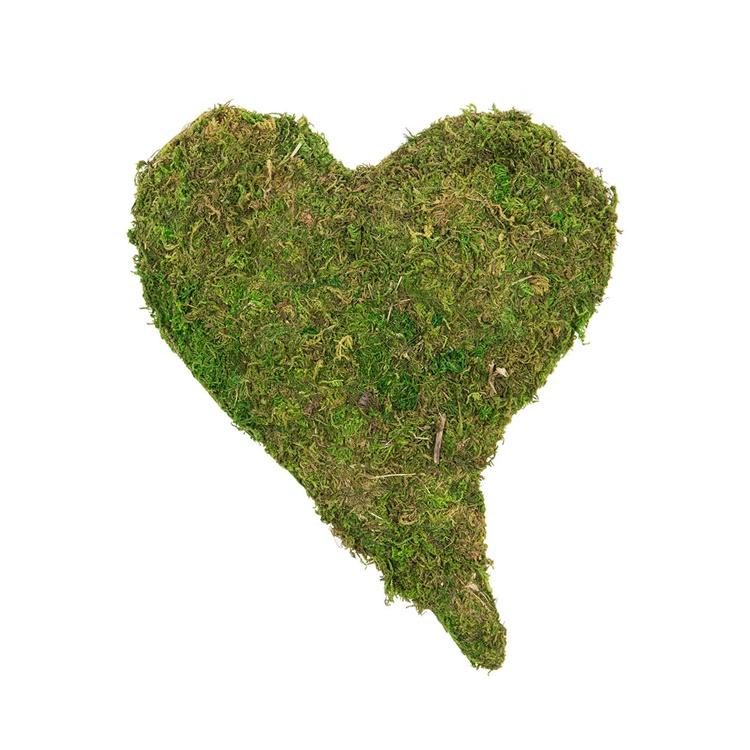 Mosshjärta stort
