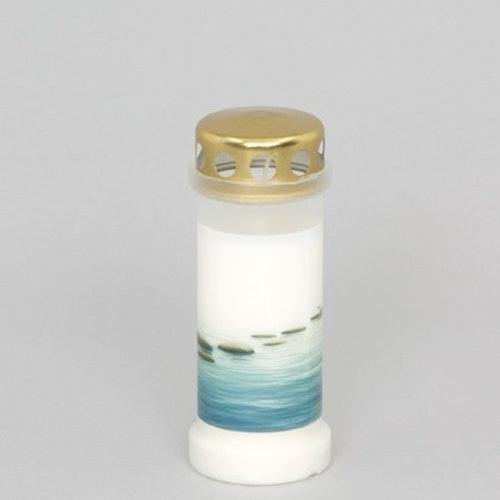 Oljeljus med havsmotiv