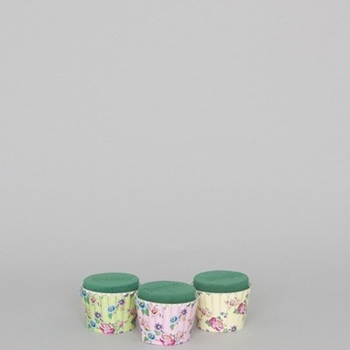 Oasis Cupcakes 6cm 3-pack