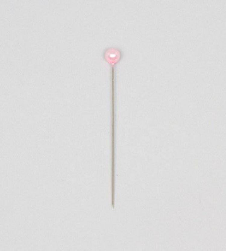 Pärlnål Rosa 6mm 20-pack
