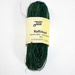 Bast / Raffia grön 50gr