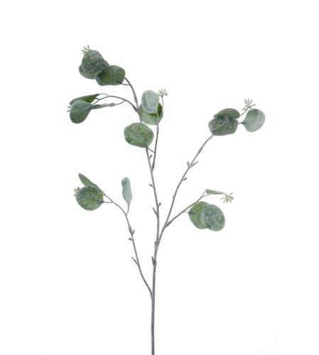 Konstgjord Eucalyptuskvist silver