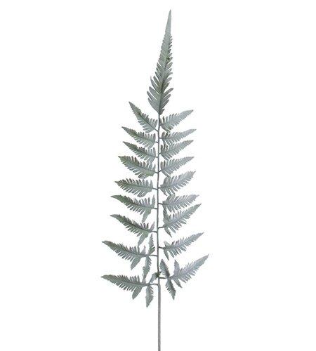 Konstgjort Ormbunksblad Silver